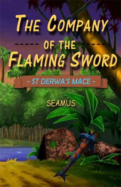 Company of the flaming sword buried treasure